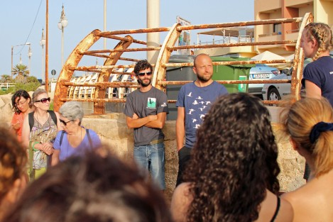 Introduction from the Malta Seabird Project team - Ben Metzger and Paulo Lago Barreiro, photo by Tim Micallef